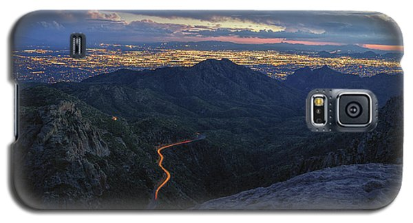 Catalina Highway And Tucson Galaxy S5 Case