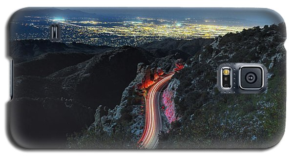 Catalina Highway Moonlight Galaxy S5 Case