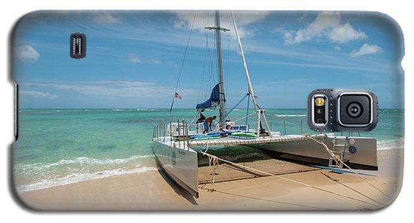 Catamaran On Waikiki Galaxy S5 Case
