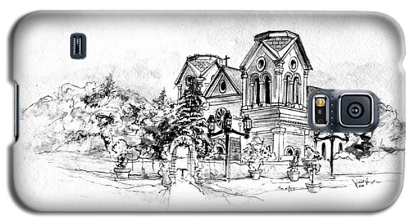 Cathedral Basilica Of St. Francis Of Assisi - Santa Fe, New Mexico Galaxy S5 Case