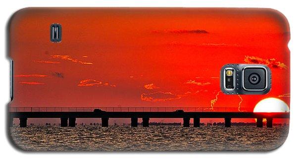 Causeway Sunset Galaxy S5 Case