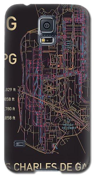 Cdg Paris Airport Galaxy S5 Case
