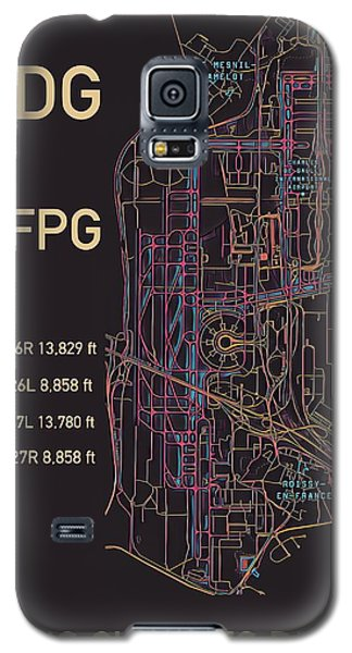 Cdg Paris Airport Galaxy S5 Case