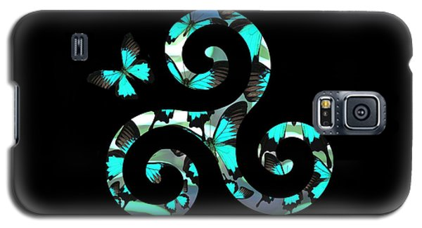 Celtic Spiral 3 Galaxy S5 Case
