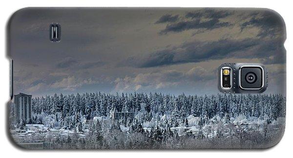 Central Park Winter Galaxy S5 Case