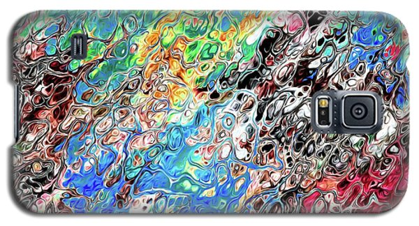 Chaos Abstraction Bright Galaxy S5 Case