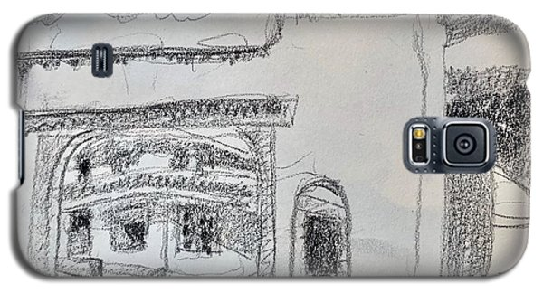 Charcoal Pencil Arch.jpg Galaxy S5 Case