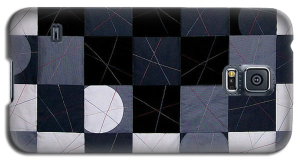 Checkerboard And Pick-up-sticks Galaxy S5 Case