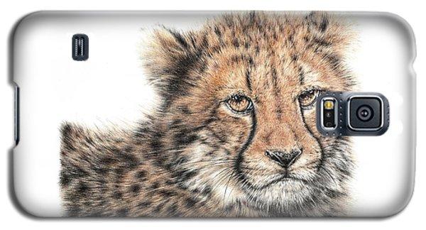 Cheetah Cub Galaxy S5 Case