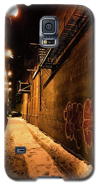 Chicago Alleyway At Night Galaxy S5 Case