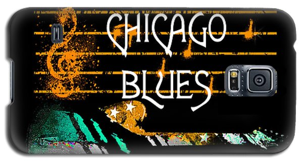 Chicago Blues Music Galaxy S5 Case