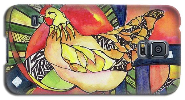 Chicken Red Galaxy S5 Case