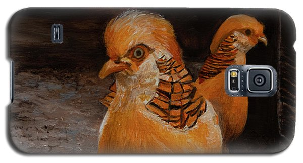 Chinese Golden Pheasant Galaxy S5 Case