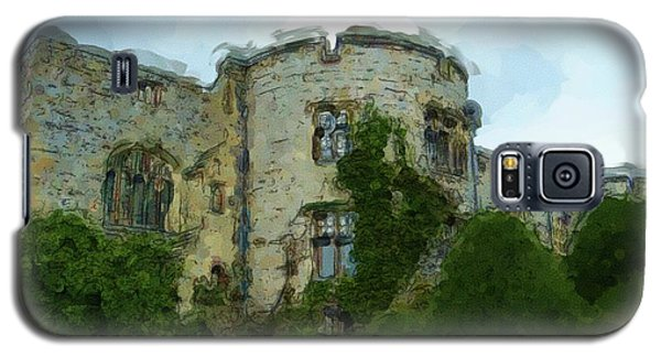 Chirk Castle Painting Galaxy S5 Case