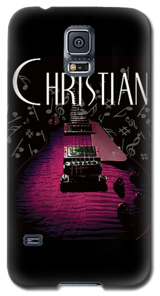 Christian Music Guita Galaxy S5 Case