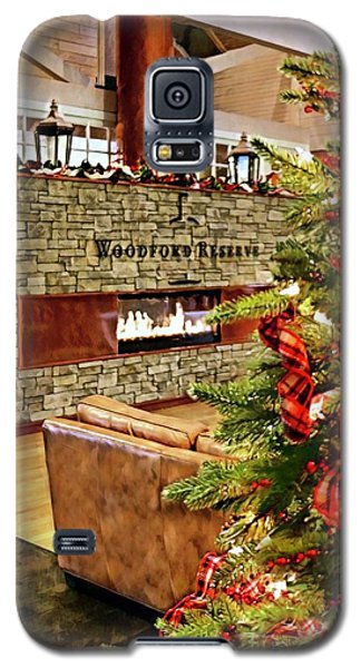 Christmas At Woodford Reserve Galaxy S5 Case