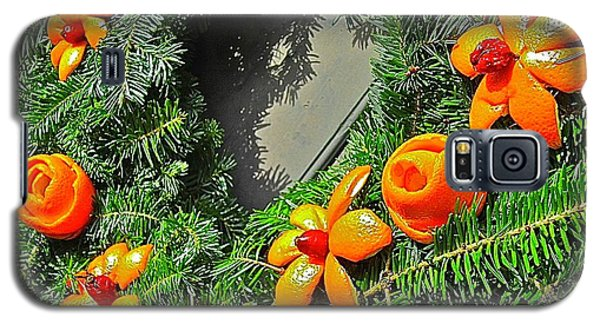 Christmas Citrus Galaxy S5 Case
