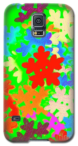 Icy Galaxy S5 Case - Christmas Crafting by Jorgo Photography - Wall Art Gallery