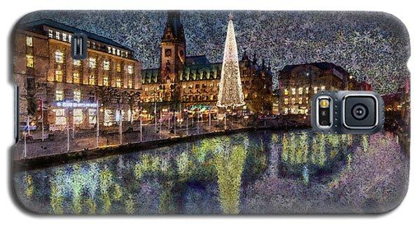 Christmas Hamburg Galaxy S5 Case