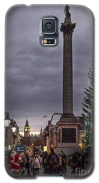 Christmas In Trafalgar Square, London Galaxy S5 Case