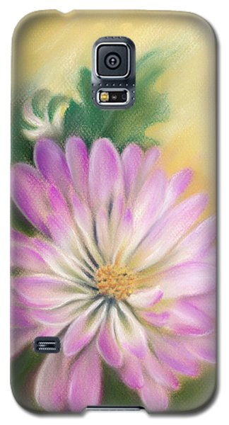 Chrysanthemum Blossom With Bud And Leaf Galaxy S5 Case