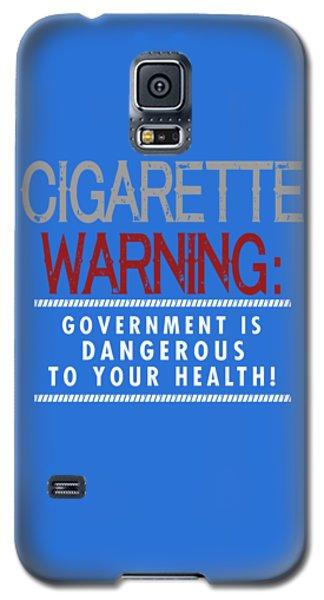 Cigarette Warning Galaxy S5 Case