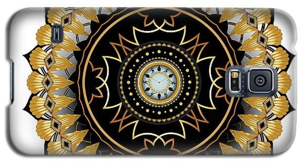 Galaxy S5 Case featuring the digital art Circumplexical No 3511 by Alan Bennington