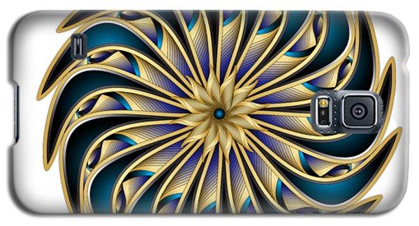 Galaxy S5 Case featuring the digital art Circumplexical No 3611 by Alan Bennington