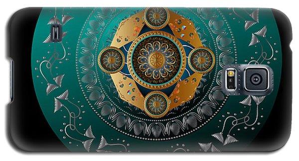 Galaxy S5 Case featuring the digital art Circumplexical No 3739.1 by Alan Bennington