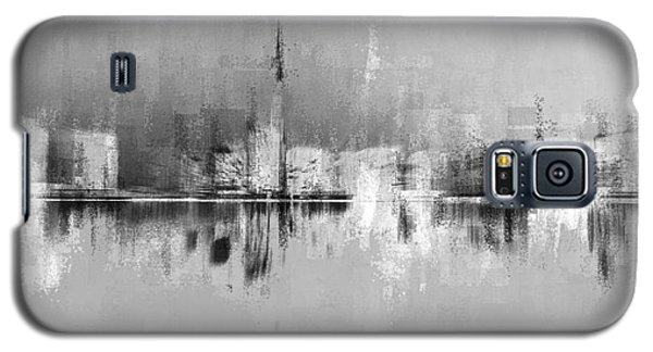 City In Black Galaxy S5 Case