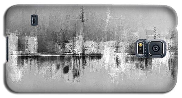 City In Black Galaxy S5 Case