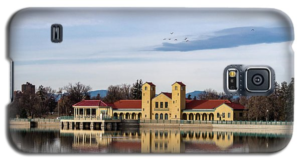 City Park Pavillon Galaxy S5 Case