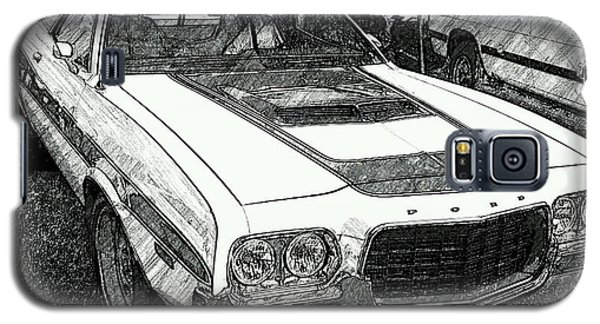 Classic Ford Sketch Galaxy S5 Case