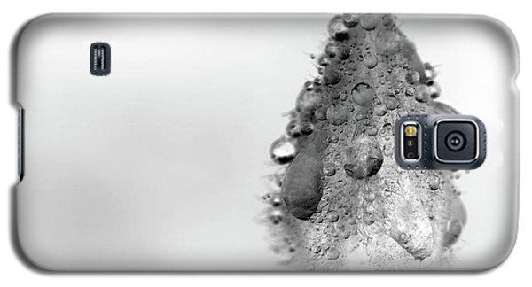 Clematis Bud In Rain Galaxy S5 Case