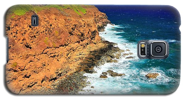 Cliff On Pacific Ocean Galaxy S5 Case