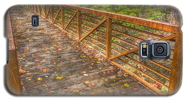 Close Up Of Bridge At Pine Quarry Park Galaxy S5 Case