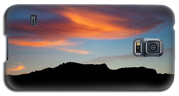 Cloud Over Mt. Boney Galaxy S5 Case