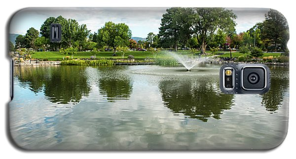 Clouds On Ashley Pond Galaxy S5 Case