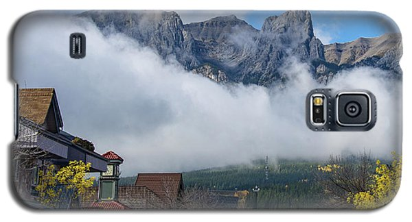 Clouds Over Canmore Galaxy S5 Case