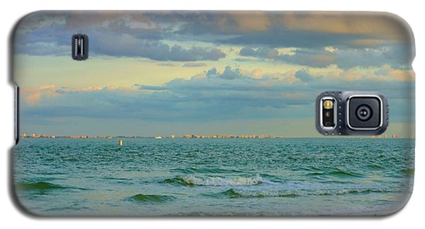 Clouds Over Sanibel Beach Galaxy S5 Case