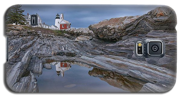 Cloudy Afternoon At Pemaquid Point Galaxy S5 Case