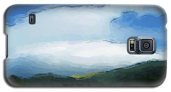 Cloudy View Painting Galaxy S5 Case