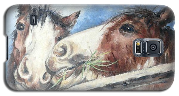 Clydesdale Pair Galaxy S5 Case