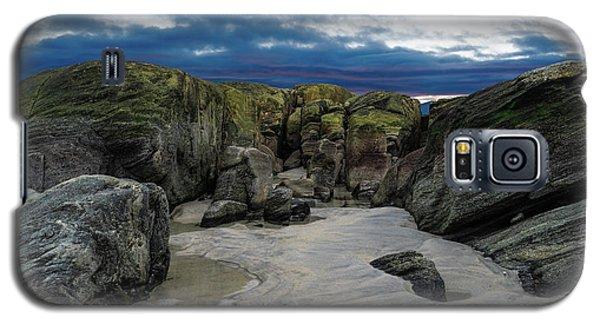 Coastline Castle Galaxy S5 Case