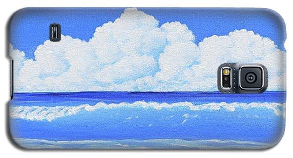 Cobalt Wave Galaxy S5 Case