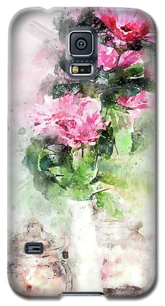 Coffee Shop In Florence Galaxy S5 Case