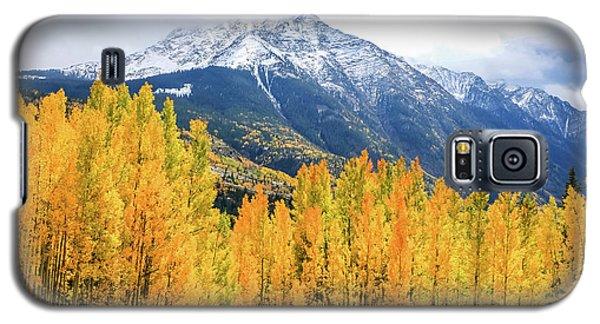 Colorado Aspens And Mountains 2 Galaxy S5 Case