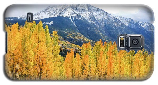 Colorado Aspens And Mountains 2 Galaxy S5 Case