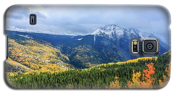 Colorado Aspens And Mountains 3 Galaxy S5 Case