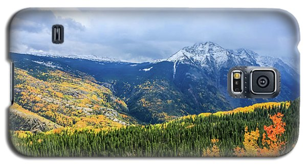 Colorado Aspens And Mountains 3 Galaxy S5 Case
